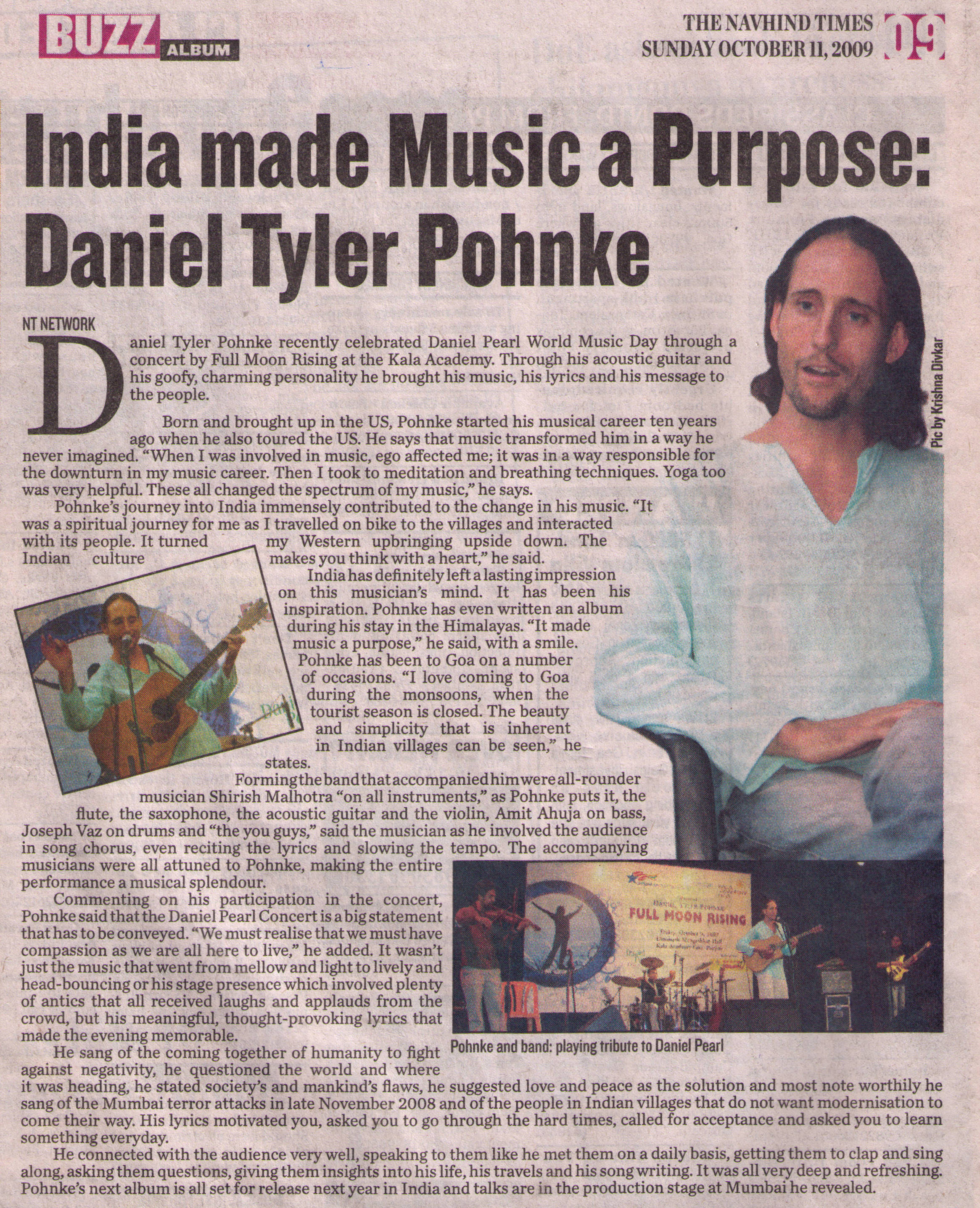 Click to read text: Daniel Tyler Pohnke of Full Moon Rising